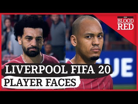 LIVERPOOL FIFA 20 PLAYER FACES! | FABINHO, SALAH, & MORE