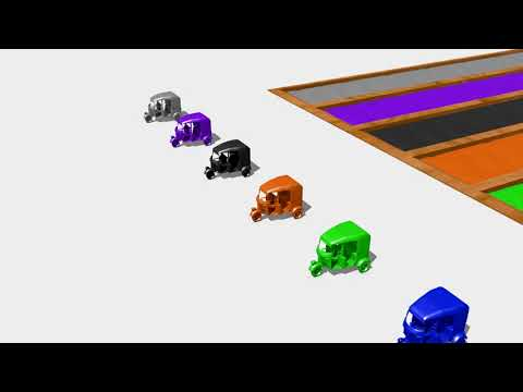 Learn colors with rickshaw / tuk-tuk - Wooden Toys
