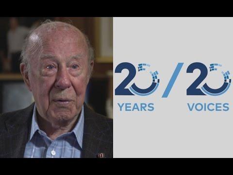 George Shultz - CTBT 20 Years 20 Voices