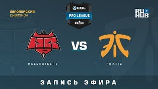 HellRaisers vs fnatic - ESL Pro League S7 NA - de_overpass [CrystalMay, Smile]