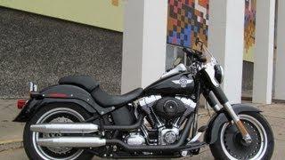 7. 2011 Harley-Davidson Fatboy Lo FLSTFB