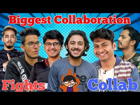 Top 5 Biggest Collaboration of Indian Streamers (Gamers) 2020 | Funny Stream Getting Rage On Camera
