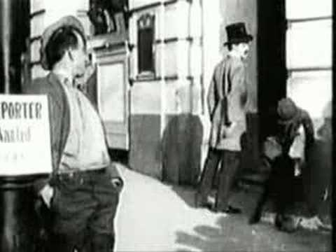 Charlie Chaplin in Making a Living (1914)