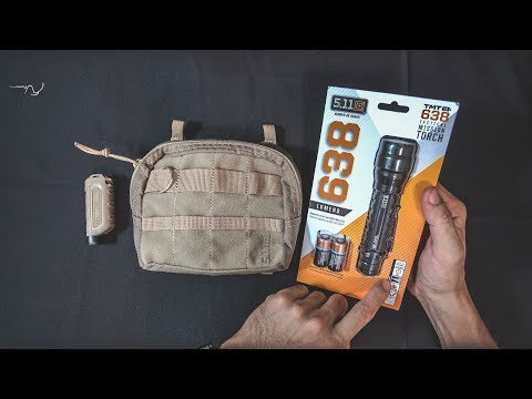 5.11 TMT L2 Tactical mission torch more than 100$ Unboxing review