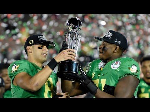 Oregon Sets Rose Bowl Record   CampusInsiders (видео)