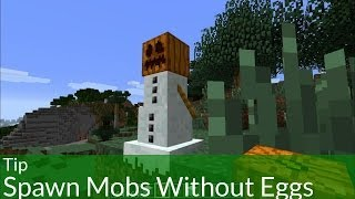 Tip: Spawn Creatures Without Eggs in Minecraft