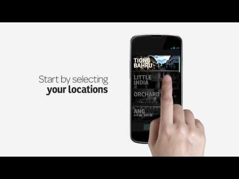Video of feecha: neighbourhood news app