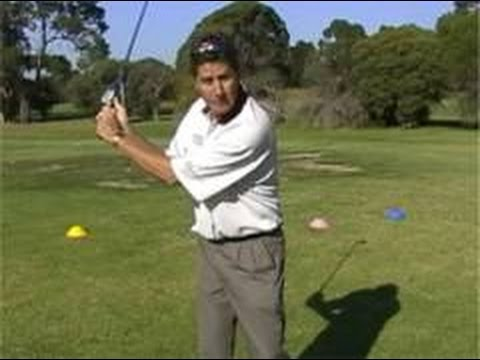 Golf swing tips, golf lessons Melbourne, Backswing right elbow and wrist hinge.