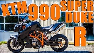 7. KTM 990 Super Duke R - Ride - Review - Motovlog