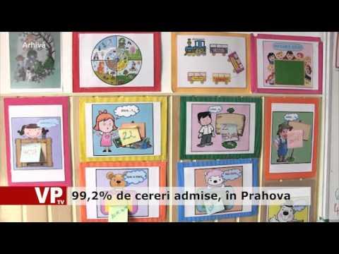 99,2% de cereri admise, în Prahova