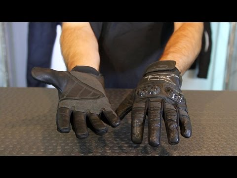 AXO Pro Race XT Gloves | Motorcycle Superstore (видео)