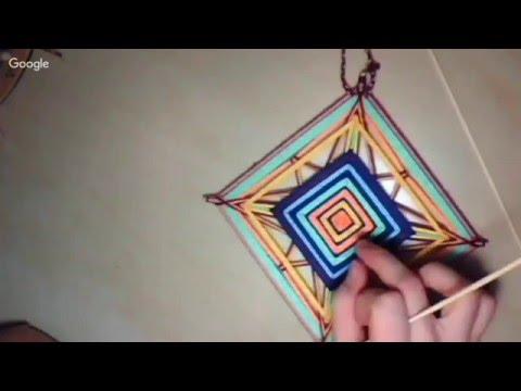 Традиция плетения мандал Оjо Dе Diоs - DomaVideo.Ru