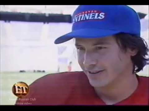 2000 Keanu Reeves. Interview. The Replacements