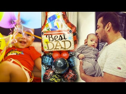 Salman Khan's Nephew Ahil's Best Gift To His Dad A