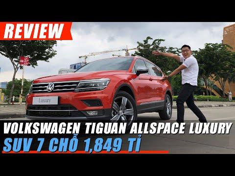 SUV 7 chỗ Volkswagen TIGUAN Allspace LUXURY trình diễn lùi chuồng tự động thế nào @ vcloz.com
