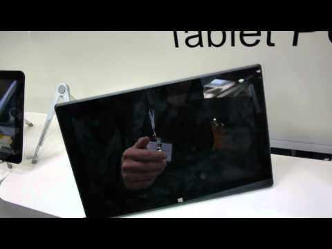HKC Microsoft Surface Pro Tablet Fake Hands On [CeBIT 2013]