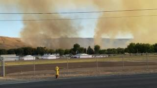 Prosser (WA) United States  city photos gallery : Fire in prosser wa. Right by my home.