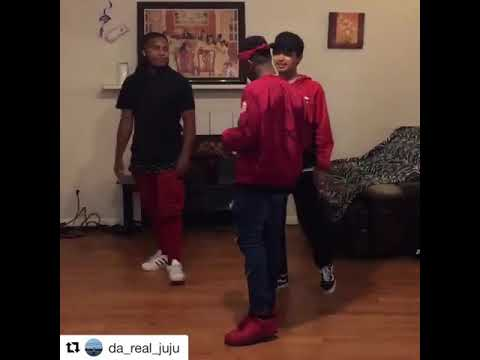 KidaTheGreat and homies dancing to