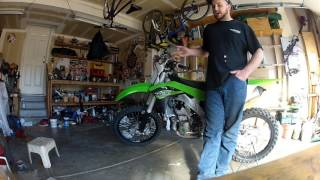 10. 2017 KX250f Review and thoughts