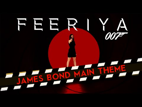 "Monty Norman  ""James Bond Theme"" Cover by Anastasia Soina"