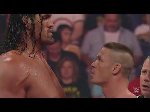 John Cena vs The Great Khali WWE Raw Full match