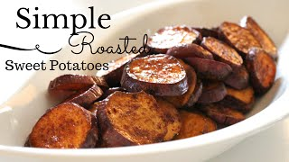 In this video I share with you a simple recipe that is full of flavor. Easy roasted sweet potatoes! Great for summer meals. I hope you enjoy.