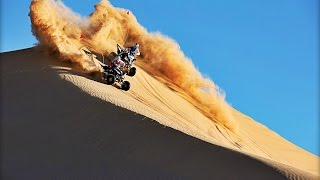 9. Glamis Dunes with Yamaha SE Raptor 700R and YFZ450R