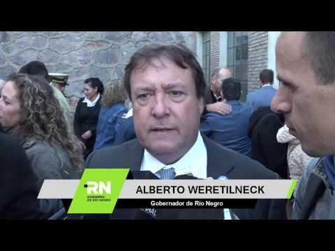 Weretilneck presidió la celebración por el 238° Aniversario de Viedma y Patagones