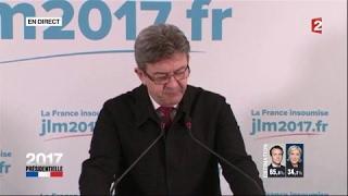 """Video """"Présidentielle 2017"""" : Réaction de Jean-Luc Mélenchon (France 2) MP3, 3GP, MP4, WEBM, AVI, FLV Mei 2017"""