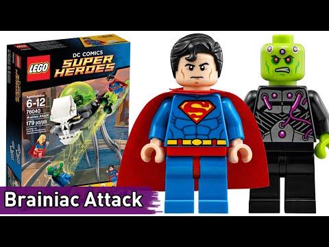 LEGO DC: Brainiac Attack (76040) - Brickworm
