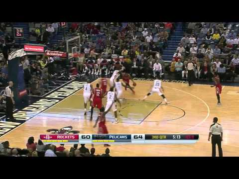 NBA Highlights: Rockets @ Pelicans 4/16/2014