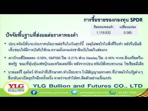 YLG รู้ทันทอง มองทันเทรน ประจำวันที่ 29-05-2020
