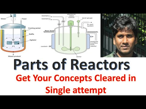 Parts of Reactor || Reactor Parts || Chemical Reactor || Basics