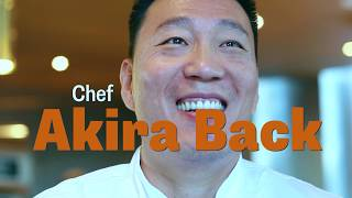 Akira Back  - Michelin Star Chef comes to Toronto