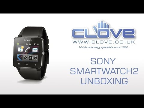 Sony SmartWatch 2 Unboxing