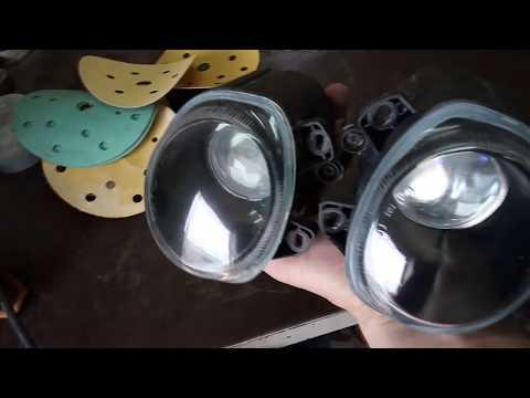Чем отполировать стеклянные фары своими руками 48
