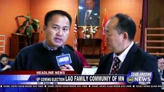 Suab Hmong News: Up coming Election of Lao Family Community of Minnesota