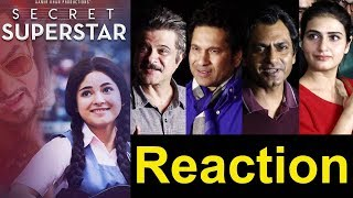 Video Bollywood Celebs Reactions On Aamir Khan's Secret Superstar Movie MP3, 3GP, MP4, WEBM, AVI, FLV Oktober 2017