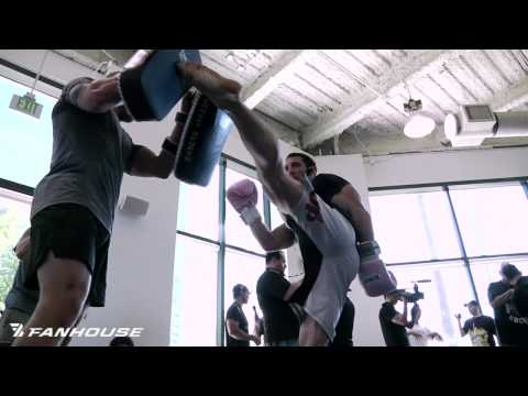 Strikeforce Los Angeles Media Day Open Training and Workout Video