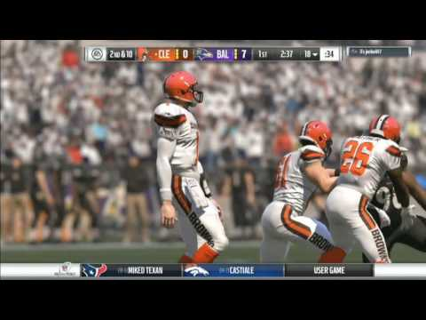AFC Divisional Playoff Round: Browns vs. Ravens (Full Game)