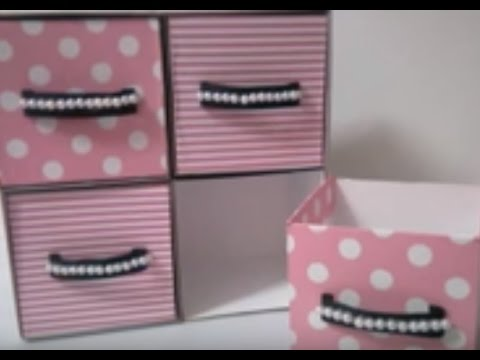Video DIY : #15 Cute Mini Drawer ♥ download in MP3, 3GP, MP4, WEBM, AVI, FLV January 2017