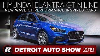2019 Hyundai Elantra GT N Line: Hyundai's other hot hatch | Detroit 2019 by Roadshow