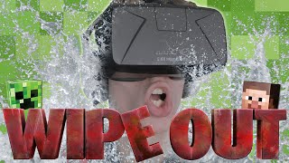 Minecraft with the Oculus Rift: DK2 - TOTAL WIPEOUT!