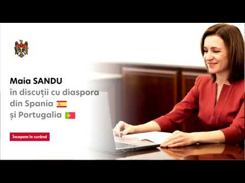 Președintele Maia Sandu a răspuns la întrebările moldovenilor din Spania și Portugalia