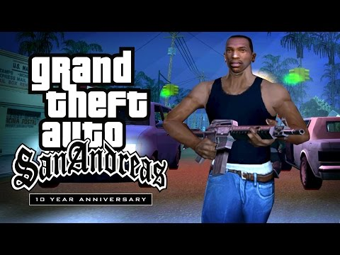 10 years anniversary - Tribute Trailer made by GTA Series Videos to celebrate the 10 Year Anniversary of Grand Theft Auto: San Andreas. Music: War - Low Rider (87 Remix) ==========...