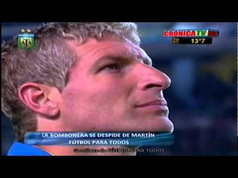 Video Juan Roman Riquelme despedida completa de Palermo
