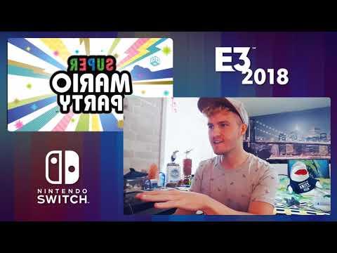 REACTION - Nintendo's E3 2018 (Part 1/2)