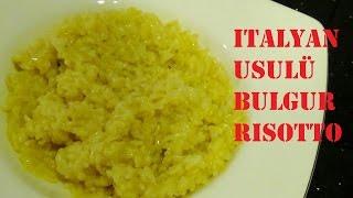 10 Numara Mutfak'ta bugün sizlere İtalyan  risotto tekniği ile bulgur tarifi veriyoruz. Özellikle et yemeklerine çok yakıştırdığım bu tarifi mutlaka deneyin!!!
