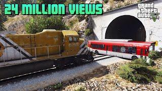 Video FUNNY | Stop The Train GTA V MP3, 3GP, MP4, WEBM, AVI, FLV Agustus 2019