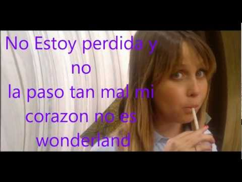 Miss XV-Wonderland (Con Letra)